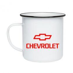 Кружка емальована Chevrolet Small