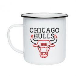 Кружка емальована Chicago Bulls Logo