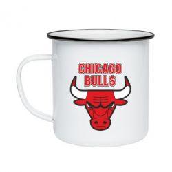 Кружка емальована Chicago Bulls vol.2