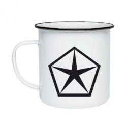 Кружка эмалированная Chrysler Star