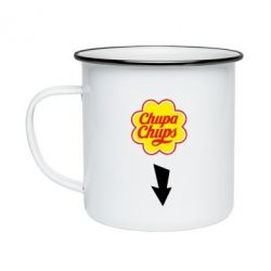 Кружка эмалированная Chupa Chups