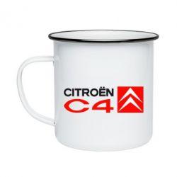 Кружка емальована CITROEN C4