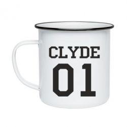 Кружка эмалированная Clyde 01