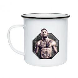 Кружка эмалированная Conor McGregor