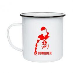 Кружка эмалированная Conquer - FatLine