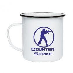 Кружка эмалированная Counter Strike