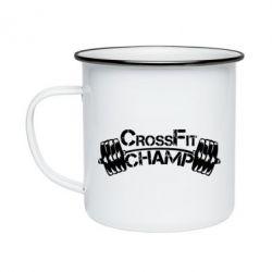 Кружка эмалированная CrossFit Champ