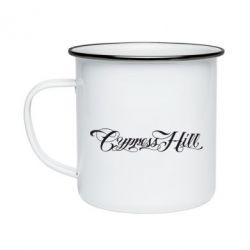 Кружка эмалированная Cypress Hill