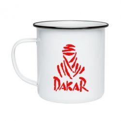 Кружка емальована Dakar
