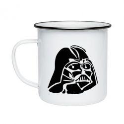 Кружка эмалированная Darth Vader