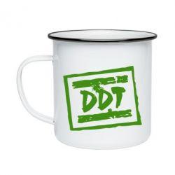 Кружка эмалированная DDT (ДДТ) - FatLine