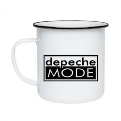 Кружка емальована Depeche Mode Rock