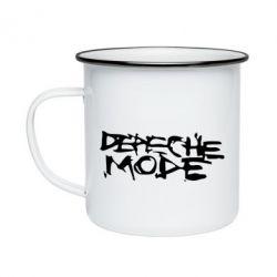 Кружка эмалированная Depeche mode