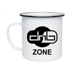 Кружка эмалированная DnB Zone