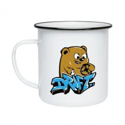 Кружка эмалированная Drift Bear