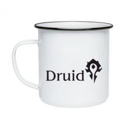 Кружка эмалированная Druid Orc