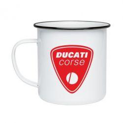 Кружка эмалированная Ducati Corse