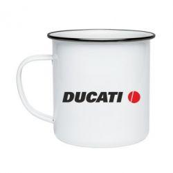 Кружка емальована Ducati