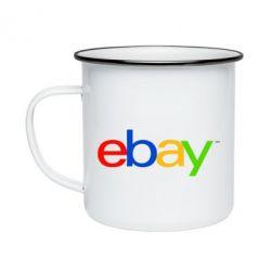 Кружка емальована Ebay
