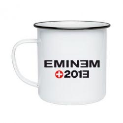 Кружка емальована Eminem 2013