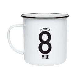 Кружка эмалированная Eminem 8 mile