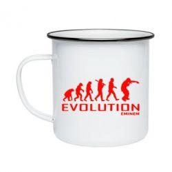 Кружка эмалированная Eminem Evolution