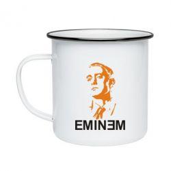 Кружка эмалированная Eminem Logo