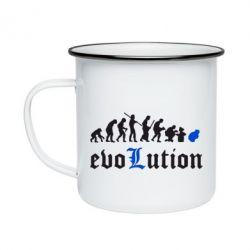 Кружка эмалированная Evolution Death Note