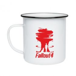 Кружка эмалированная Fallout 4 Art
