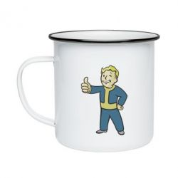 Кружка эмалированная Fallout Boy