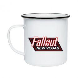 Кружка эмалированная Fallout New Vegas