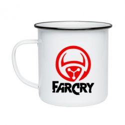 Кружка эмалированная FarCry LOgo - FatLine