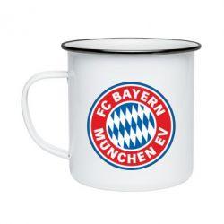 Кружка емальована FC Bayern Munchen
