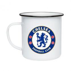 Кружка эмалированная FC Chelsea
