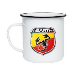 Кружка эмалированная FIAT Abarth