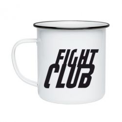 Кружка емальована Fight Club