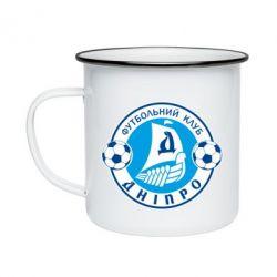 Кружка емальована ФК Дніпро