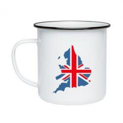 Кружка эмалированная Флаг Англии