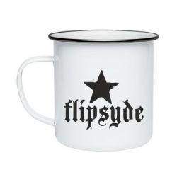 Кружка емальована Flipsyde