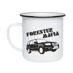 Кружка эмалированная Forester Mafia