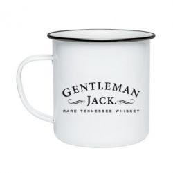 Кружка емальована Gentleman Jack
