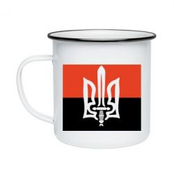 Кружка эмалированная Герб Правого Сектору