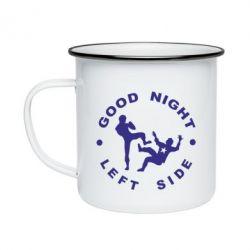 Кружка эмалированная Good Night - FatLine