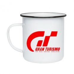 Кружка эмалированная Gran Turismo
