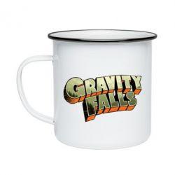 Кружка эмалированная Gravity Falls