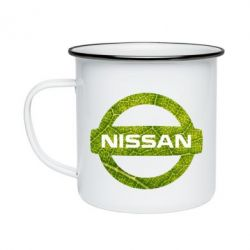 Кружка емальована Green Line Nissan