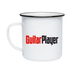 Кружка емальована Гітарист
