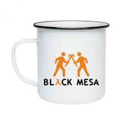 Кружка эмалированная Half Life Black Mesa - FatLine