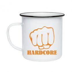 Кружка эмалированная hardcore - FatLine