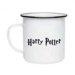 Кружка эмалированная Harry Potter - FatLine